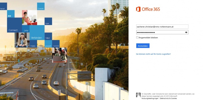Microsoft Office 365 für alle SchülerInnen der NMS Rottenmann