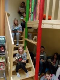 Unsere Schulbibliothek – unser Himmel!